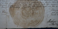 list królewski August II Mocny 1/3