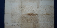 list królewski August II Mocny 3/1