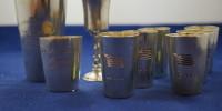 Nagrody pucharki Towarzystwo Wioslarskie Breslau 1912-1919 srebro próba 800