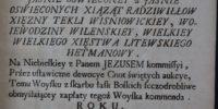 Woysko serdecznych affektów 1739 Hilarion Falęcki