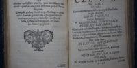 Polski starodruk Woysko serdecznych affektów 1739 rok wydanie pierwsze