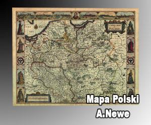 Mapa Polski A.Newe