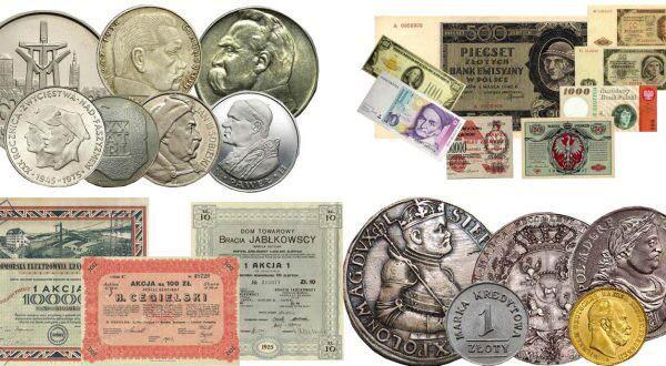 Monety, banknoty