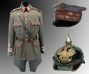 mundur i czapki