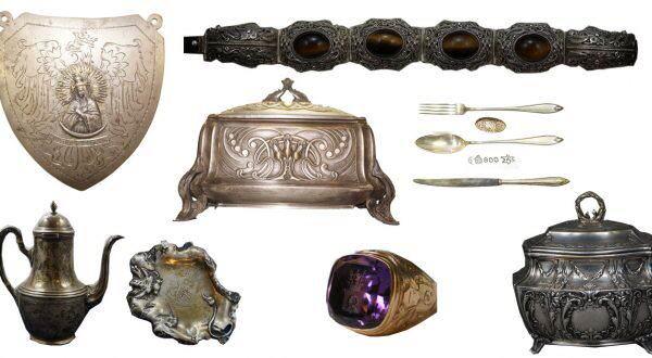 Srebro, złoto i platery