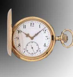 zloty zegarek