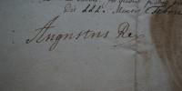 list królewski August II Mocny 1/2