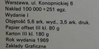 Tytus Romek i A'Tomek księga IV, pierwsze wydanie 1969 nr 2