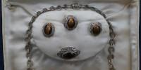Cudowny komplet srebrnej biżuterii